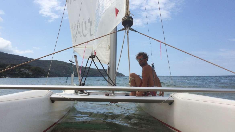 Barca a vela e Catamarano