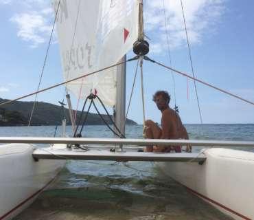 Barche a vela e catamarano