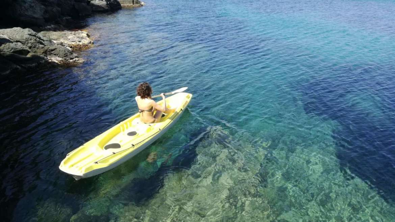 Kayak e pedalò