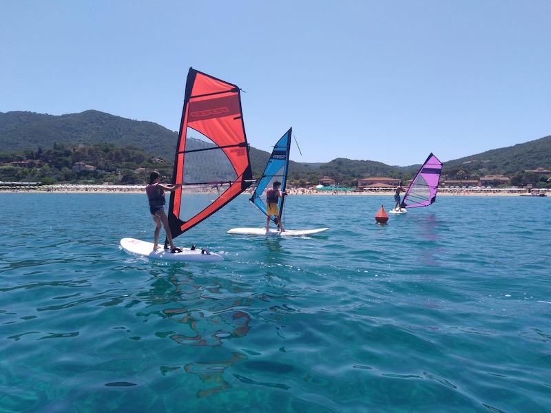 La tua scuola di Windsurf all' Isola d' Elba