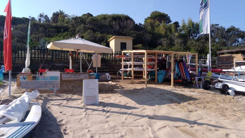 Risveglio ad Elba Water Sports Procchio.