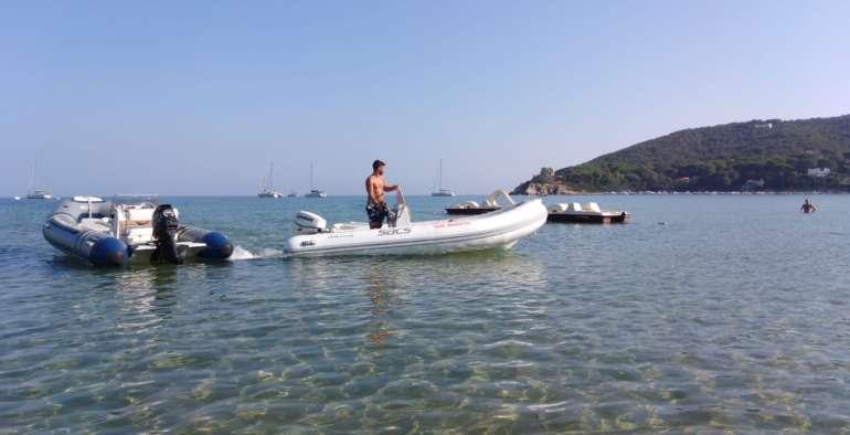 Noleggio Gommoni all'Isola d'Elba a Procchio con EWS