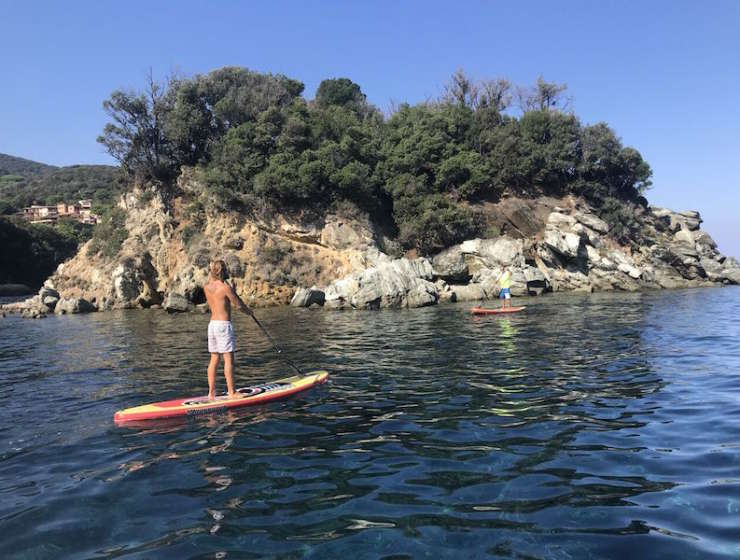 Escursioni in Sup con Elba Water Sports