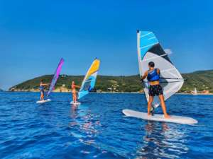 Corsi di windsurf all'isola d'Elba