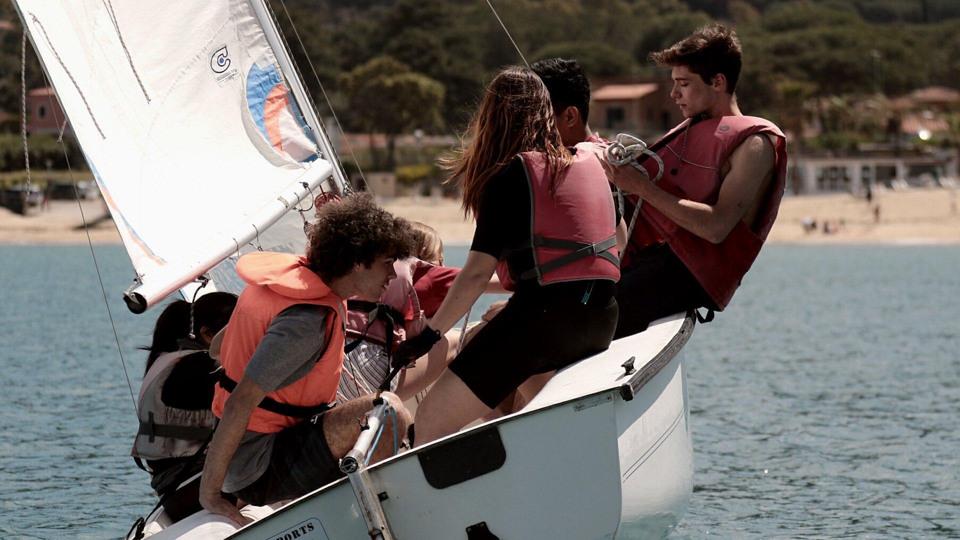 Ragazzi in barca