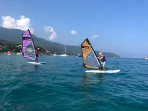 Corsi windsurf bambini Elba