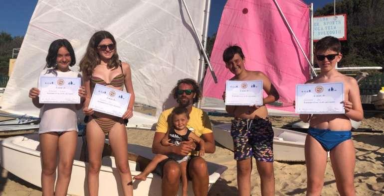 Corsi di Vela per bambini all'Isola d'Elba