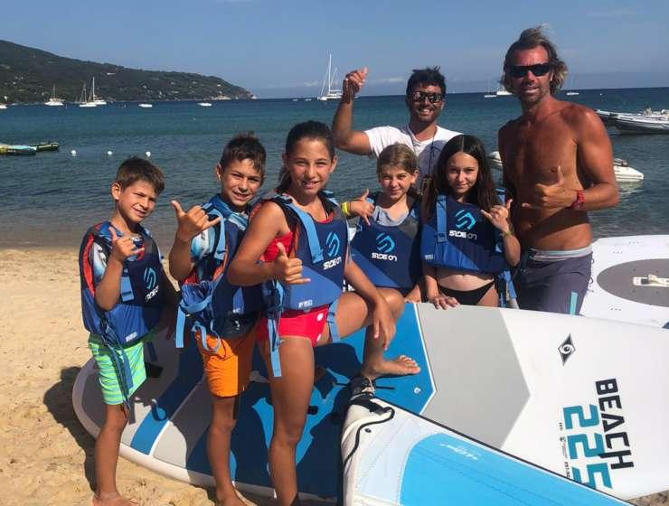 Corsi di Windsurf per bambini all'Isola d'Elba