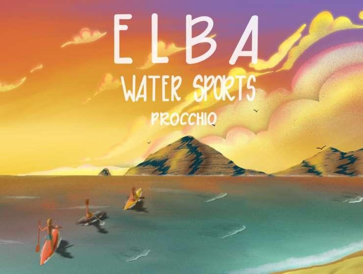 Elba in Sup: Le meraviglie di Capo d' Enfola con EWS