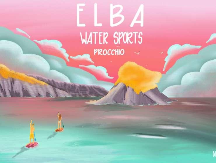 Elba in Sup con Ews: Alla scoperta della Paolina